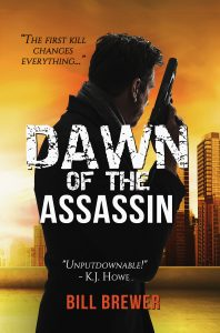 Cover of Book One, New Thriller Series